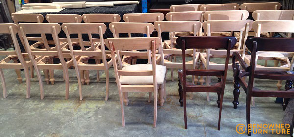 dining chairs being made RF