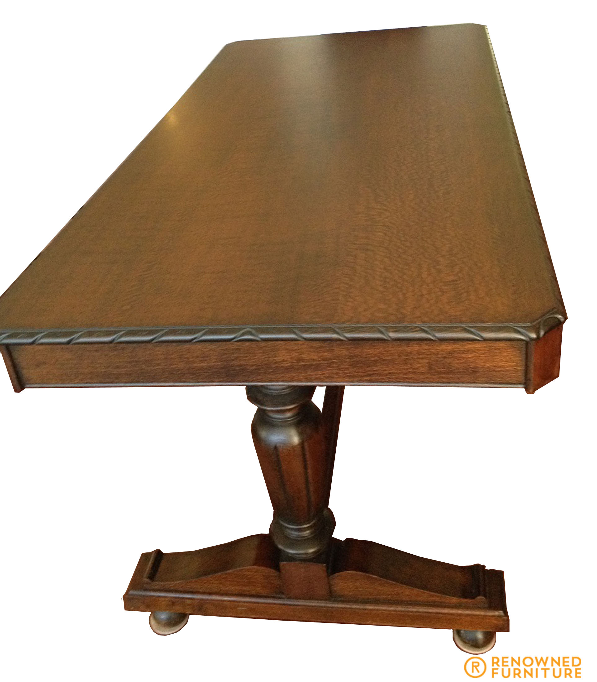 Comfortable furniture silky oak table for Gumtree beauty table