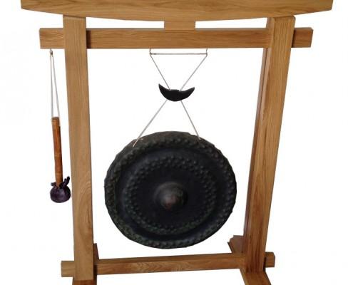 Japanese gong restored