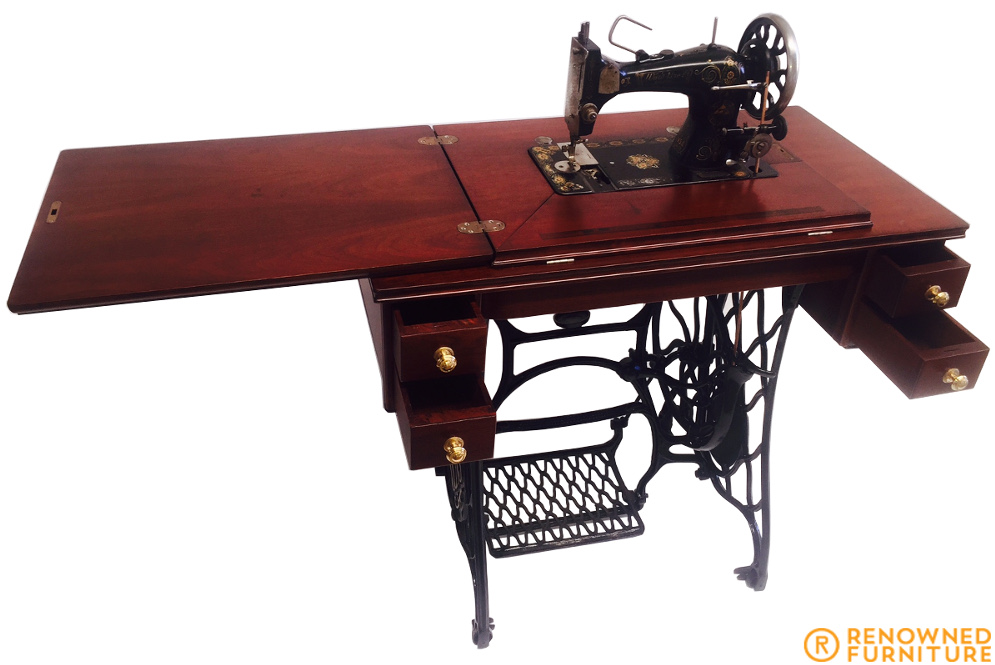 Singer sewing machine restored