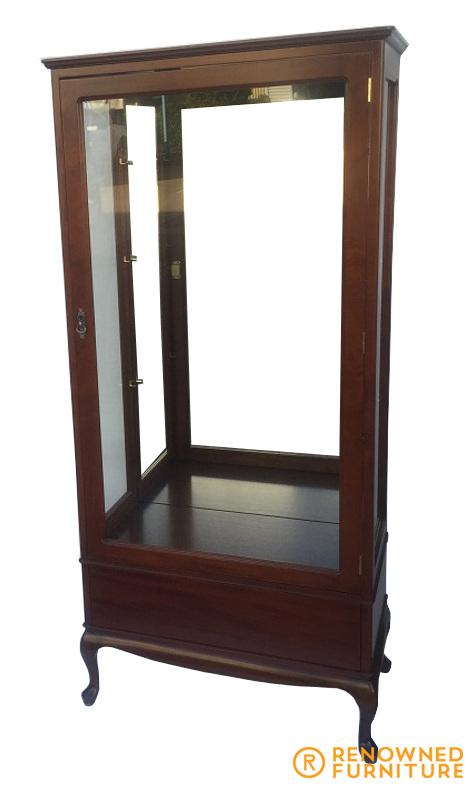 Jill mahogany cabinet