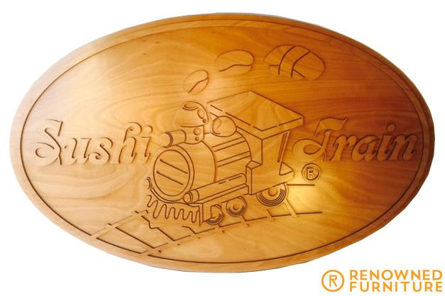 Sushi train singage