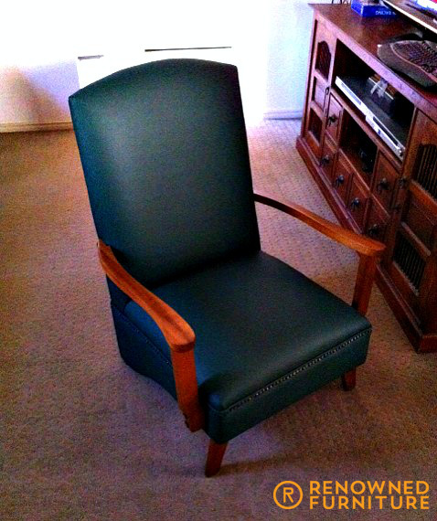 Restored Lounge Chair