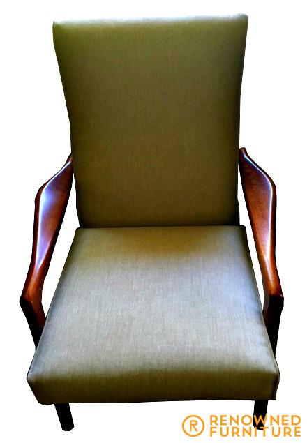 Restored mid-century Parker TV chair