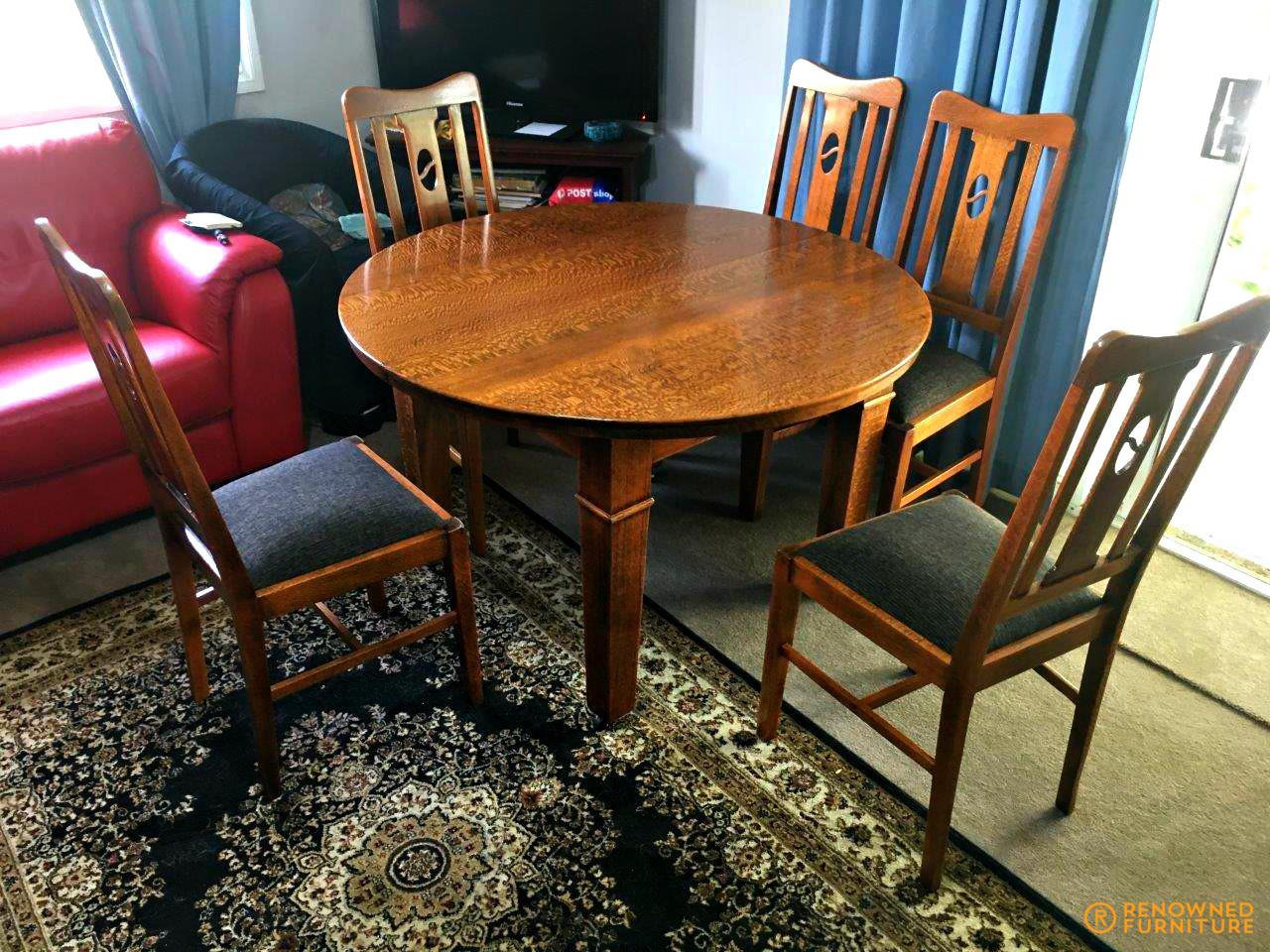 Restored dining suite