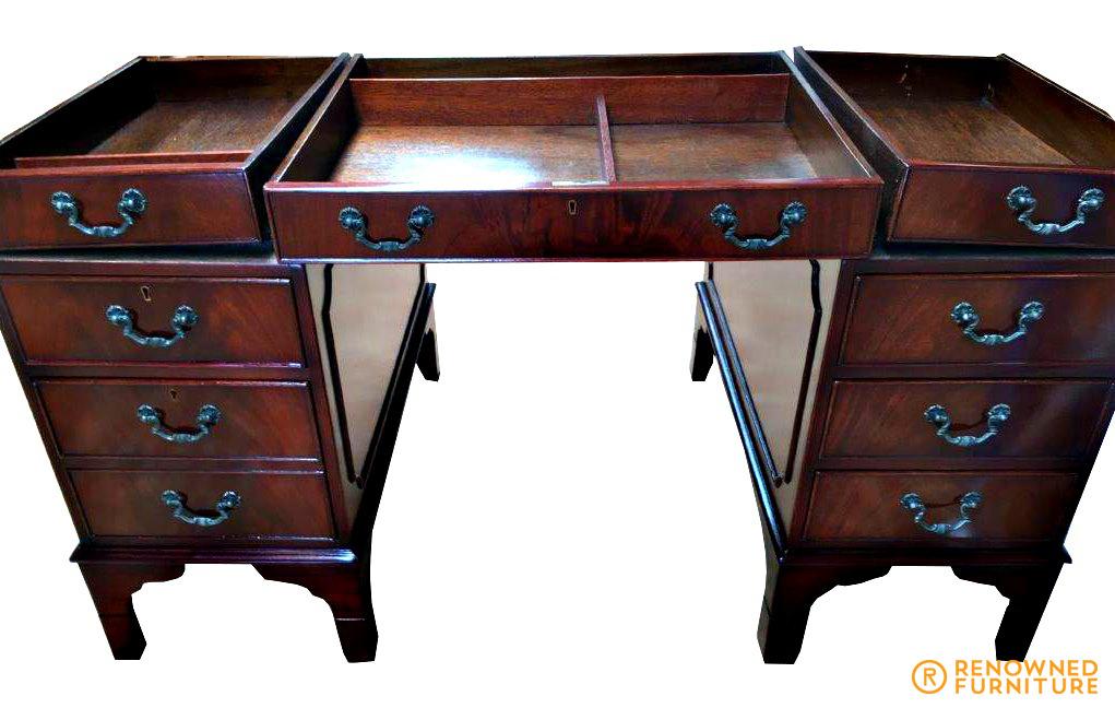 Restored mahogany desk