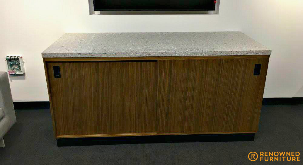 Custom made boardroom buffet piece