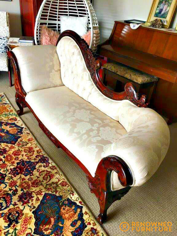 Restored chaise