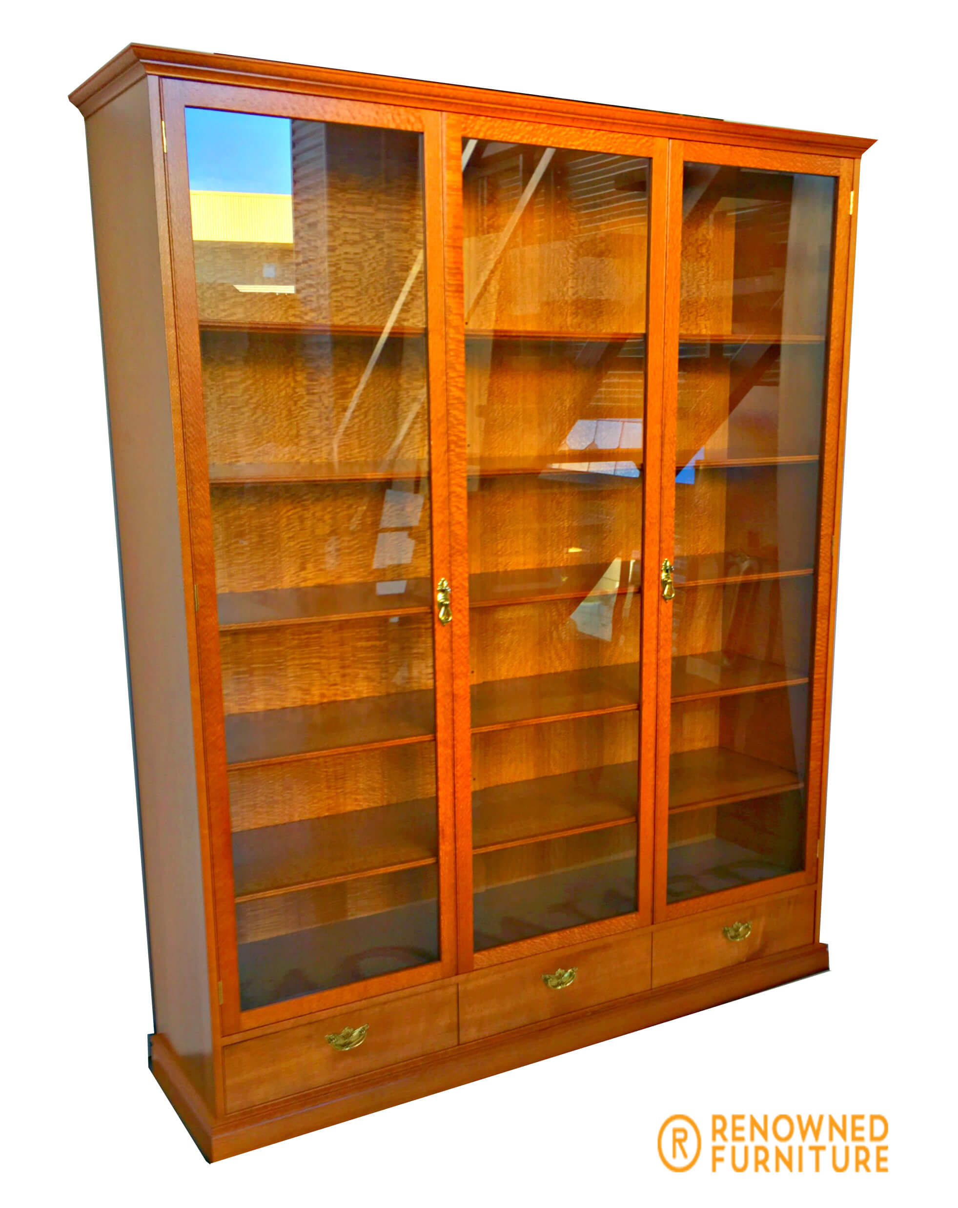 Custom-made display cabinet