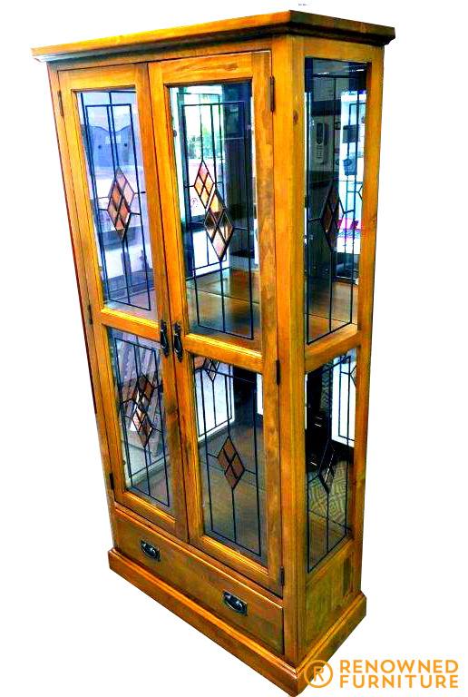 Restored display cabinet