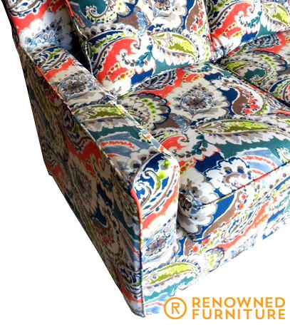 Restored sofa