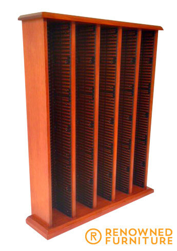 Custom-made CD rack
