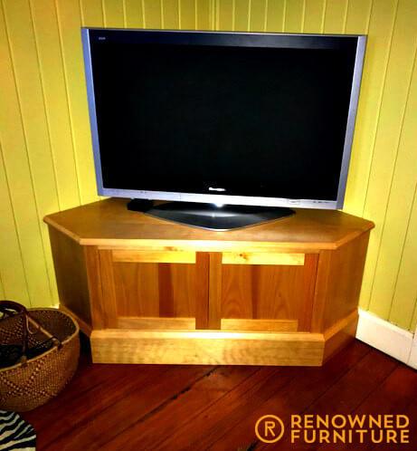 Restored TV cabinet