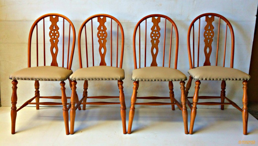 Restored dining chairs