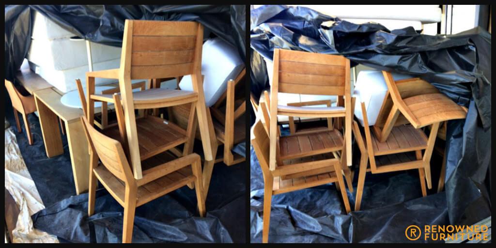 Furniture damaged by Cyclone Debbie