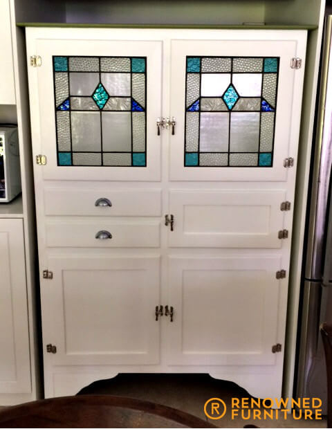 Restored kitchen hutch