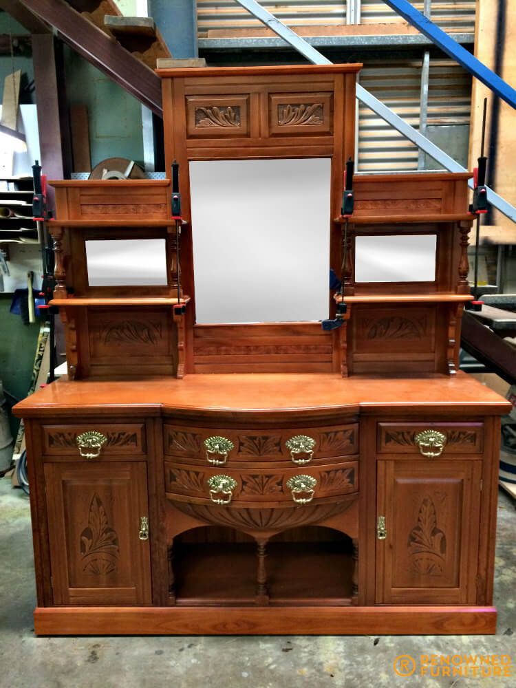 Restored Huon pine dresser