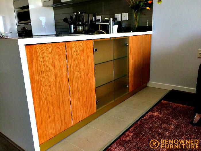Custom made kitchen island /cabinet